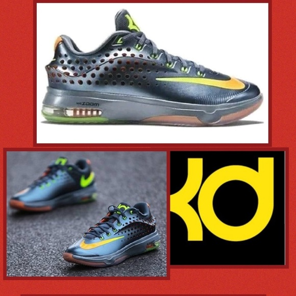 best service 8f87b ed678 Nike KD VII ELITE Mens Basketball Shoes Graphite